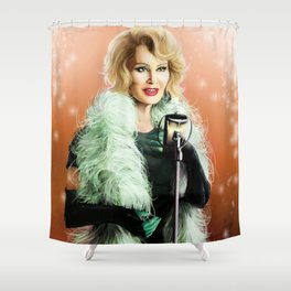 iN THE LAND OF gODS AND mONSTERS Shower Curtain