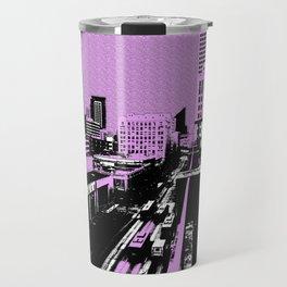 The city shall be pink today! Travel Mug