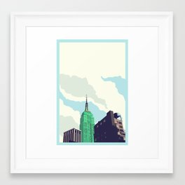 For Julia - NYC Framed Art Print