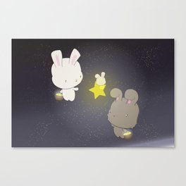Star Collecting Canvas Print