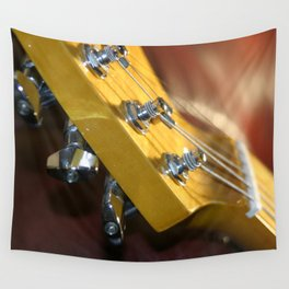 Guitar Headstock Wall Tapestry