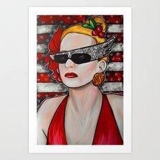 Joanna Stayton - Overboard  Art Print