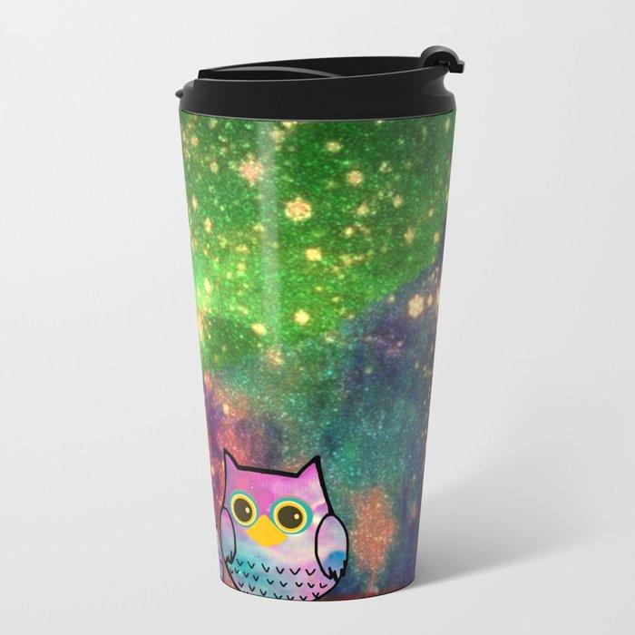 owl-143 Metal Travel Mug