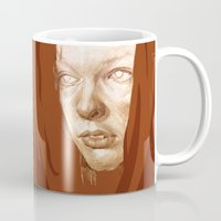 fifth element Mugs featuring The Fifth Element by Doruktan Turan