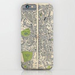 Bacon's Pocket Atlas of London (1921) - 44 Croydon iPhone Case