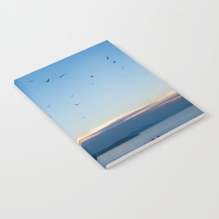 Birds Croatie Lokrum Notebook