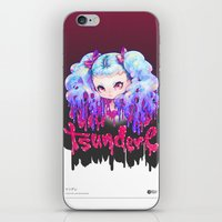 barachan iPhone & iPod Skins featuring tsundere by barachan