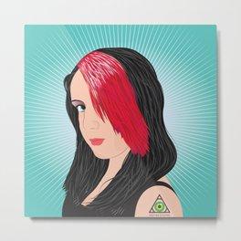 Dorothy's Portrait Metal Print