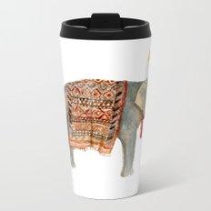 Riding Elephant Metal Travel Mug