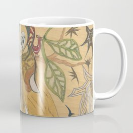 The Exposition, or Woman Conducts Singing Cat Coffee Mug