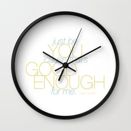 Good Enough Wall Clock