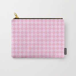 Pink Lace Pink and Cotton Candy Pink Diamonds Carry-All Pouch