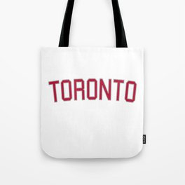 Toronto Sports College Font Tote Bag