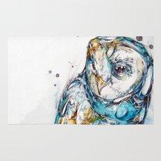The Sea Glass Owl Rug