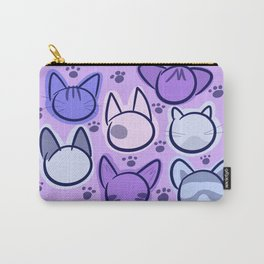 pastel purrfection Carry-All Pouch