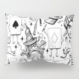 Antique Magic Starter Pack Black and White Pillow Sham