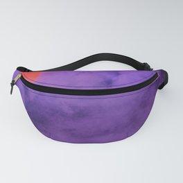 Purple Smoke Fanny Pack