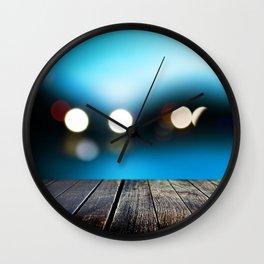 Evening berth Wall Clock