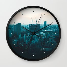Osaka morning Wall Clock