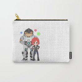 Mass Effect - Grunt and Shepard Carry-All Pouch