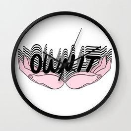 OWN IT II Wall Clock