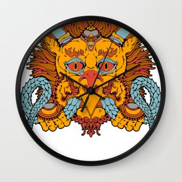 Garuda Wall Clock