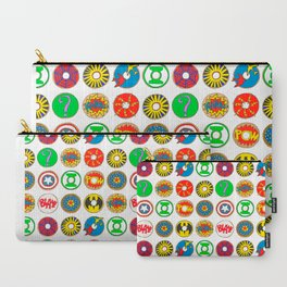 Superhero Donuts Carry-All Pouch