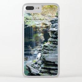 Rainy Glen Clear iPhone Case