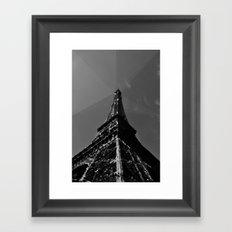 Colliding times Framed Art Print