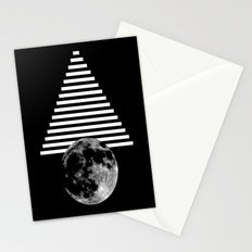 moon walk Stationery Cards