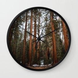 Giants of Sequoia Wall Clock