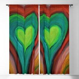 KIND HEART Blackout Curtain