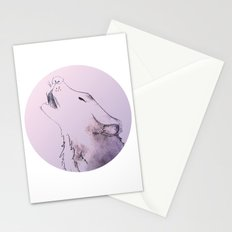 Wolf Strong Stationery Cards