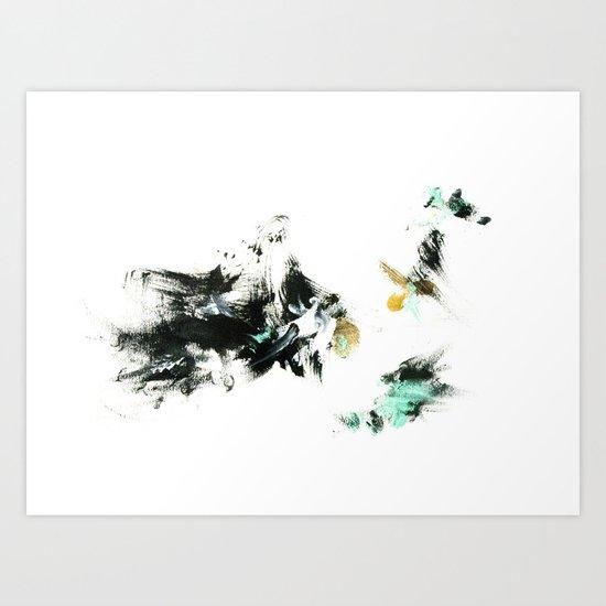 Gallop Art Print