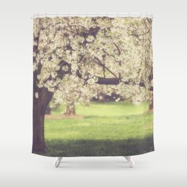 The Cherry Orchard Shower Curtain