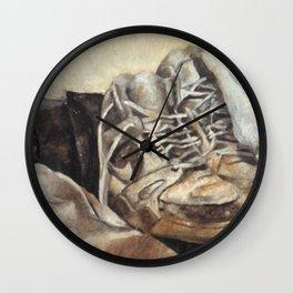 Tired of Walkin' Wall Clock