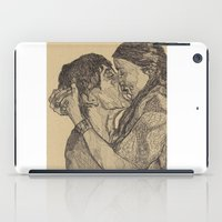 lovers iPad Cases featuring Lovers by Paxelart