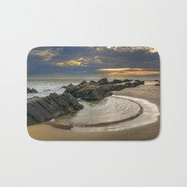 Windy Tarifa beach. Wild swiming pools. Bath Mat