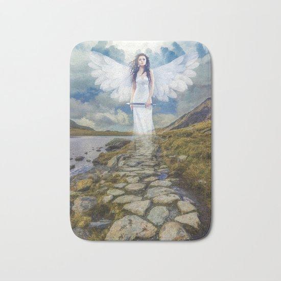 Angels Protection Bath Mat
