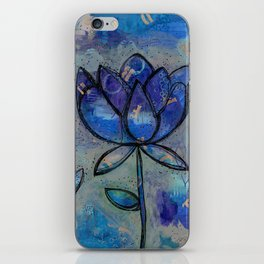 Abstract - Lotus flower - Intuitive iPhone Skin