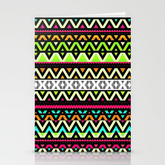 Neon Mix Stationery Cards