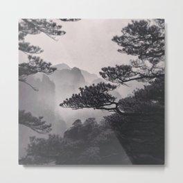 Huangshan Metal Print