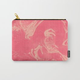Adrift - Abstract Suminagashi Marble Series - 12 Carry-All Pouch