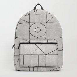 My Favorite Geometric Patterns No.3 - Grey Backpack
