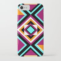 quilt iPhone & iPod Cases featuring Quilt Pattern by k_c_s