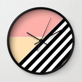 Quilt , patchwork Wall Clock