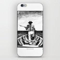 Māori Harpooner iPhone & iPod Skin