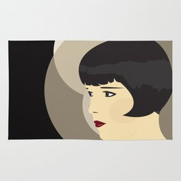 LOUISE BROOKS Rug
