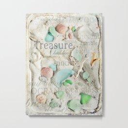 Beach Treasure Metal Print