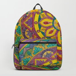 Secret Garden mandala Backpack